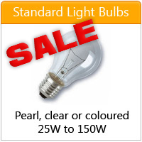 Standard GLS Lightbulbs - click here